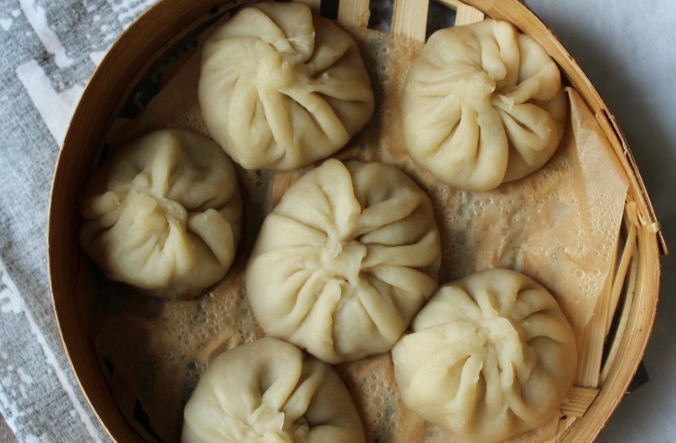 Xiaolongbao - suppe-dumplings