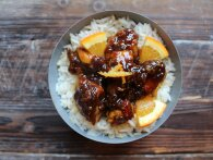 Orange Chicken: Asiatisk appelsinglaceret kylling