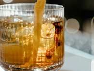 Starry Old Fashioned - med gin